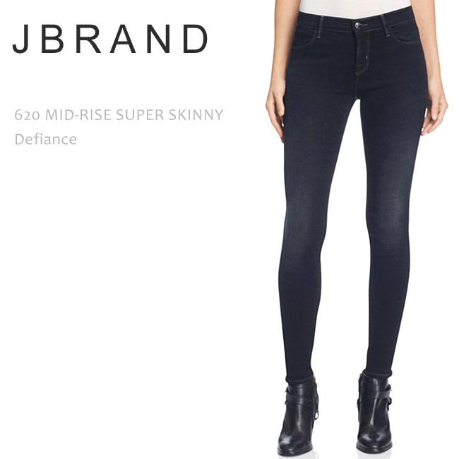 【SALE】J BRAND(ジェイブランド・ジェーブランド)620 MID-RISE SUPER SKINNY Defianceスーパースキニー/デニム/美シルエットジーンズ