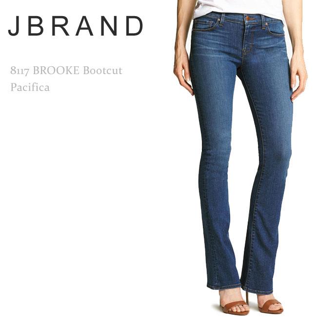 【SALE】J Brand(ジェイブランド・ジェーブランド)8117 Brooke Bootcut Pacifica【送料無料】ブーツカット/スリムブーツ/デニム