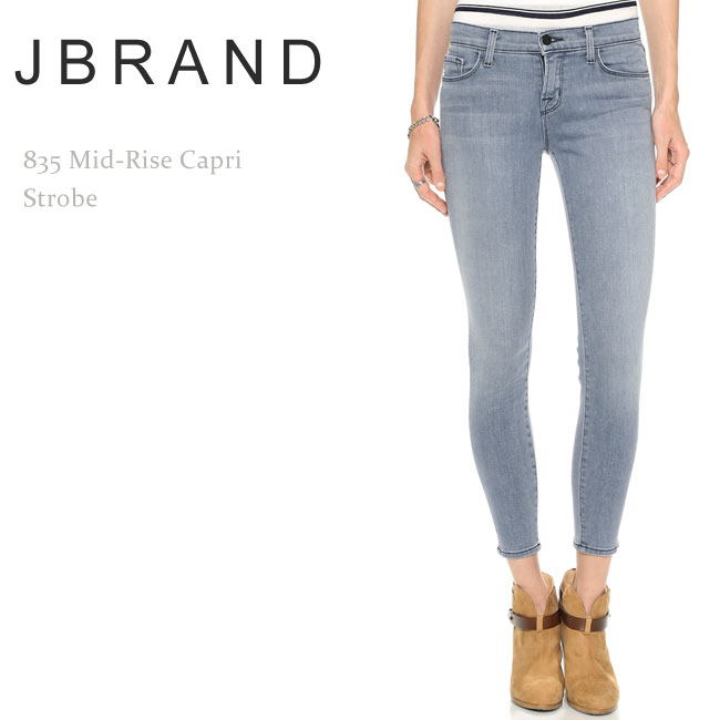 Brand J Brand jay Elliottsiwy Mid Brandcurrent Rise Skinny Strobe Capri 835 Recortada Jane t1F4wrxnq1