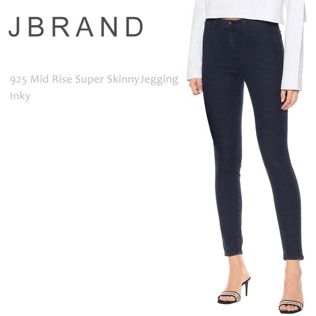 J Brand(ジェイブランド・ジェーブランド)925 MID RISE SUPER SKINNY JEGGING Inky ミッドライズ スーパースキニー スキニーデニム レギンス