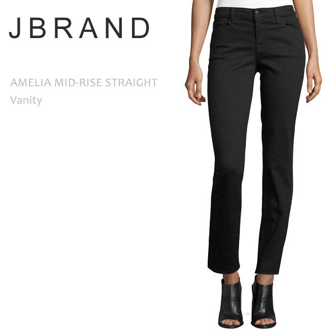 J BRAND(ジェイブランド・ジェーブランド)AMELIA MID RISE STRAIGHT Vanityストレートデニム/カラーデニム/ブラックデニム