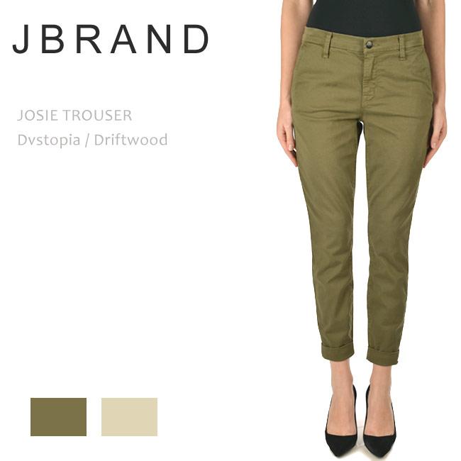 【SALE】J Brand(ジェイブランド・ジェーブランド)JOSIE TROSER Mid Rise Tapered Skinny Dvstopia/Diftwoodテーパード スキニー トラウザー チノ