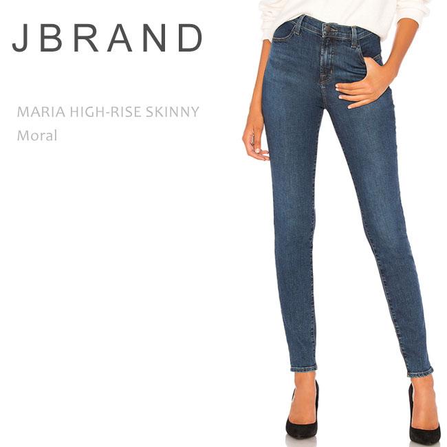 【SALE】J Brand(ジェイブランド・ジェーブランド)MARIA HIGH RISE SKINNY Moral ハイライズ スキニー ハイウエスト デニム