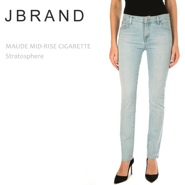 【SALE】J Brand(ジェイブランド・ジェーブランド)MAUDE MID RISE CIGARETTE Stratosphere スキニー シガレットデニム ミッドライズ インディゴ デニム