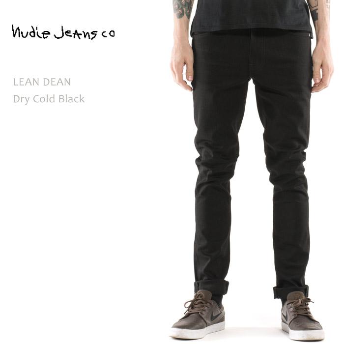 【再入荷】NUDIE JEANS(ヌーディー ジーンズ)LEAN DEAN Dry Cold Black
