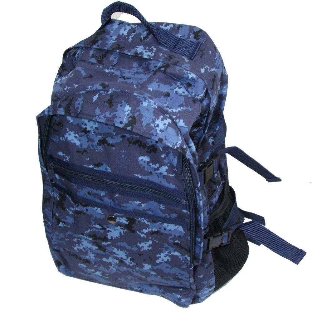 自衛隊グッズ 海上自衛隊 デジタル迷彩 デイバッグ