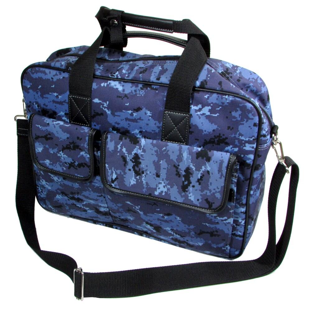 自衛隊グッズ 海上自衛隊 デジタル迷彩 ビジネスバッグ