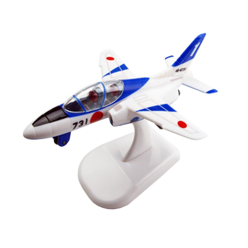 航空自衛隊 空自 プルバック ブルーインパルス T-4 箱入り スタンド付き 新作販売 本日限定 自衛隊グッズ プルバックマシーン