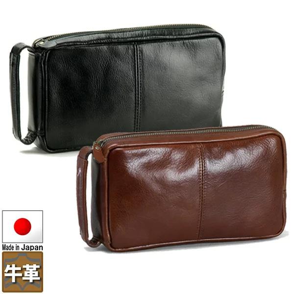 セカンドバッグ セカンドポーチ 本革 24cm 日本製 豊岡製鞄 ブレザークラブ メンズ 25711