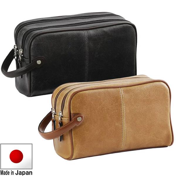 セカンドバッグ セカンドポーチ ダブルタイプ 25.5cm 日本製 豊岡製鞄 アンディハワード メンズ 25815