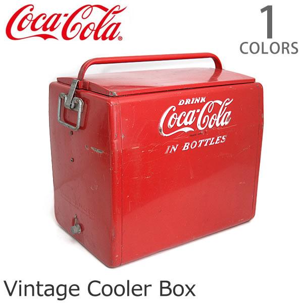コカ・コーラ【Coca Cola】クーラーボックス レトロ ヴィンテージ レッド アメリカン雑貨 ドリンク USA 収納 おもちゃ箱 インテリア ガーデニング USED DIY【送料無料】