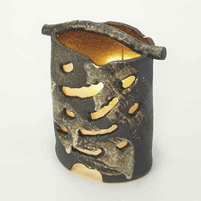 鐘燈(屋外用)【照明】インテリア/和モダン/飾り/陶器/おしゃれ