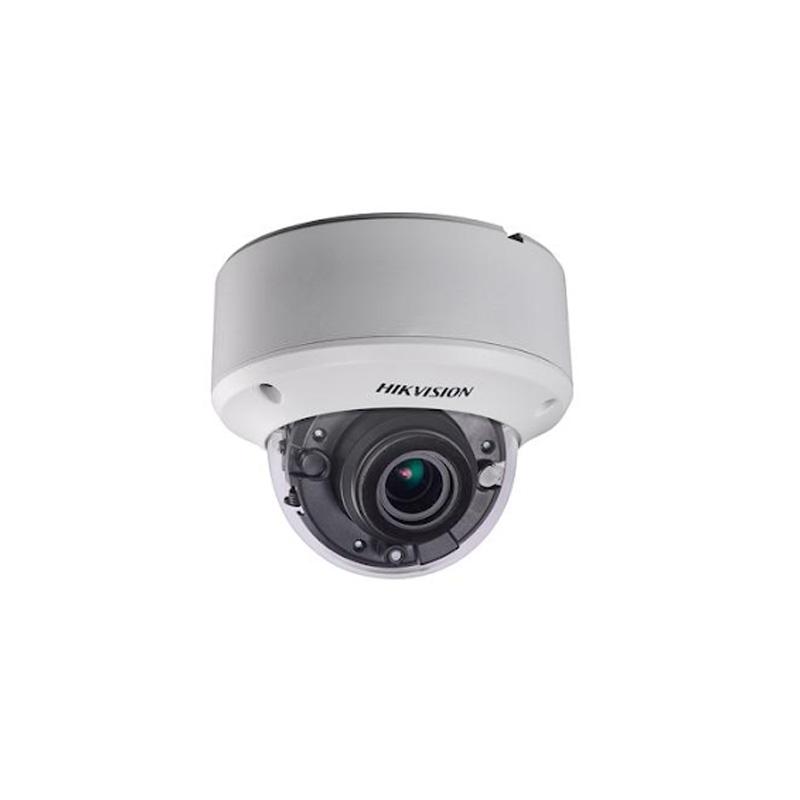 HIKVISION(ハイクビジョン)防犯カメラ 屋外 TVI 2MP フルハイビジョン1080p 赤外線 ドームカメラ ds-2ce56d8t-vpit3ze 【送料無料】【あす楽対応】