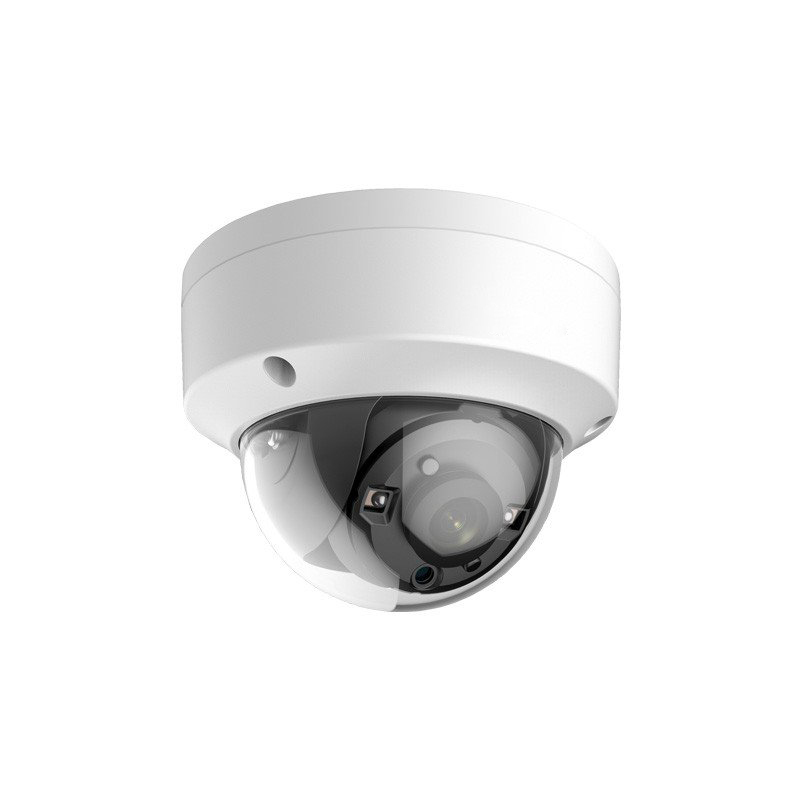 HIKVISION(ハイクビジョン)防犯カメラ 屋外 TVI 243万画素 フルハイビジョン1080p 赤外線 EXIRタレットカメラDS-2CE57U8T-VPIT