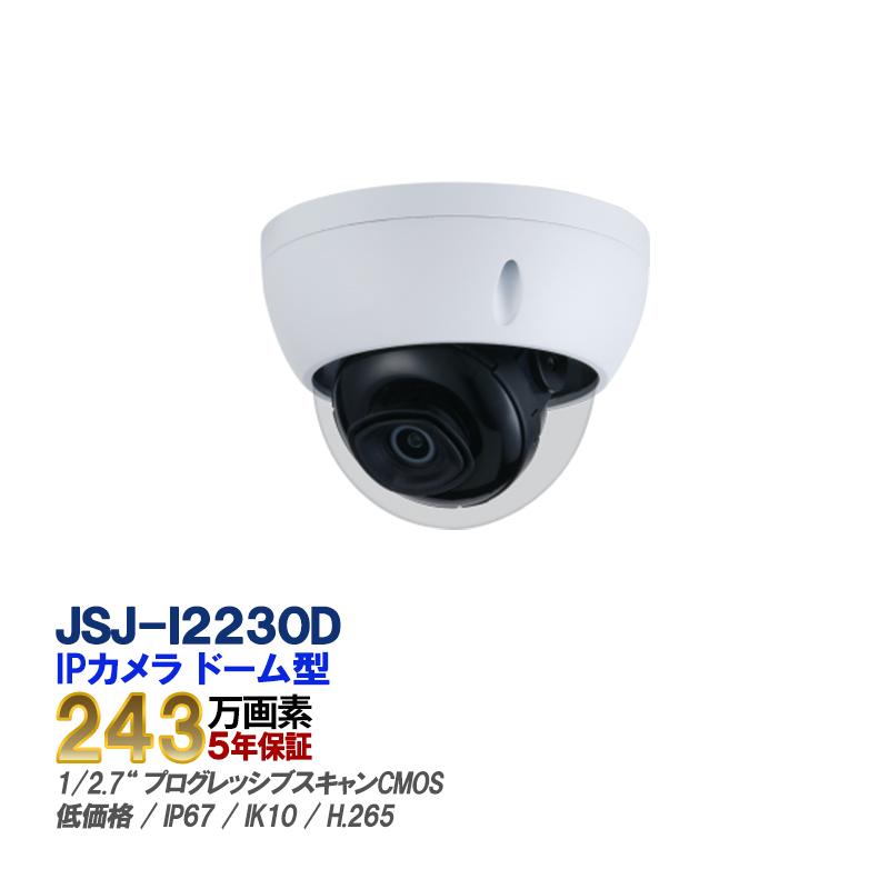 IP CAMERA ネットワークカメラ 防犯カメラ 監視カメラ 2メガ JSJ-I2230D【あす楽対応】