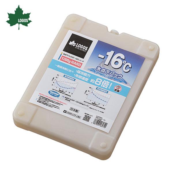 保冷パック 保冷バッグ 保冷剤 2020モデル 停電 ロゴス #81660611 -16度ハード1200 LOGOS 氷点下パックGT 国内正規品