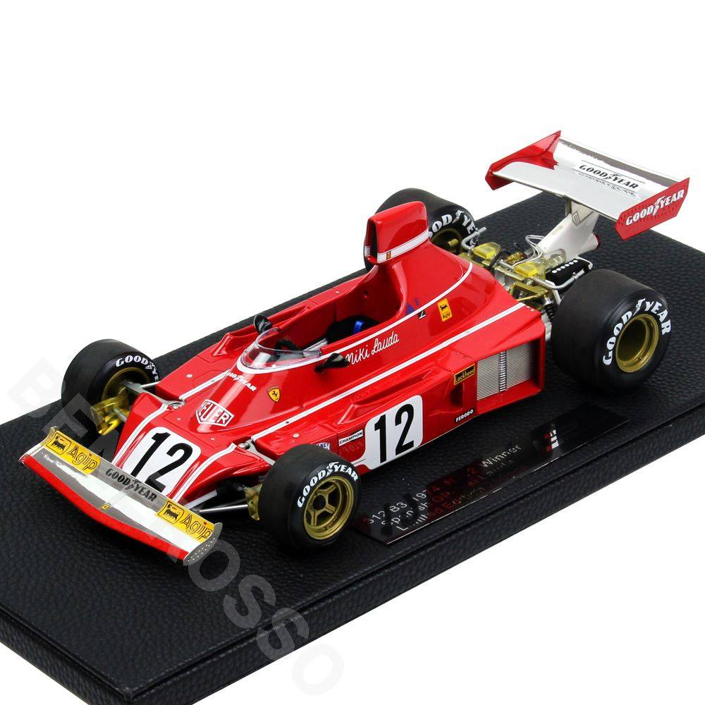 TOPMARQUES 1/18スケール フェラーリ 312 B3 1974 N.ラウダ #12 GRP025C