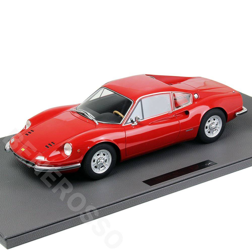 TOPMARQUES 1/12スケール フェラーリ ディーノ 206 GT レッド TOP12-23A