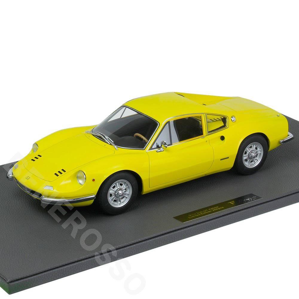 TOPMARQUES 1/12スケール フェラーリ ディーノ 206 GT イエロー TOP12-23B