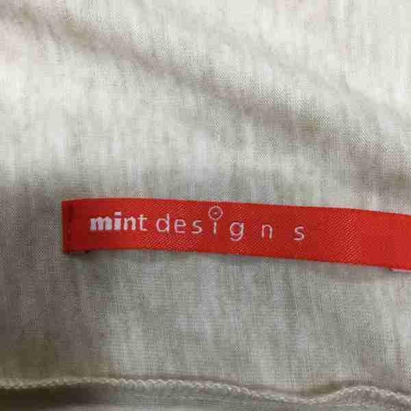 mintdesigns ミントデザインズ 長袖 カーディガン Cardigan 刺繍文字 20SS USED古着 10001495OZiPwkTXu
