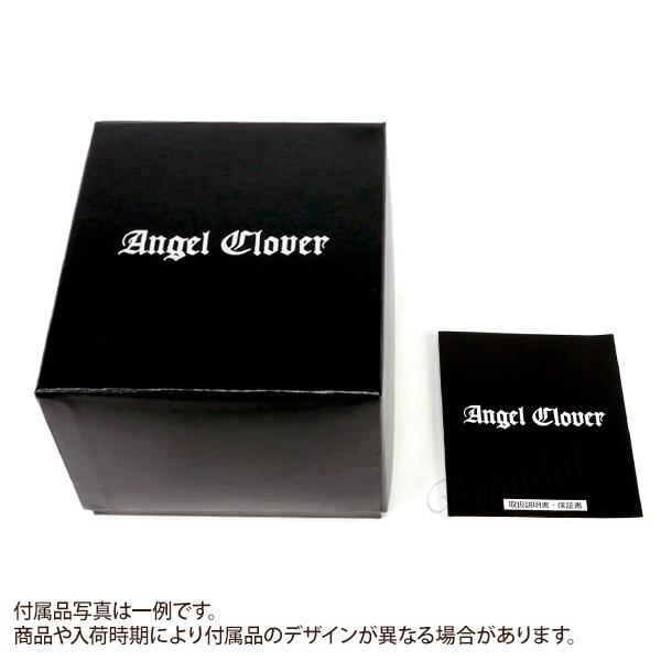 エンジェルクローバー Angel Clover メンズ腕時計 Brio ブリオ クロノグラフ 43mm ホワイト×ローズゴールドnPkwX08NO