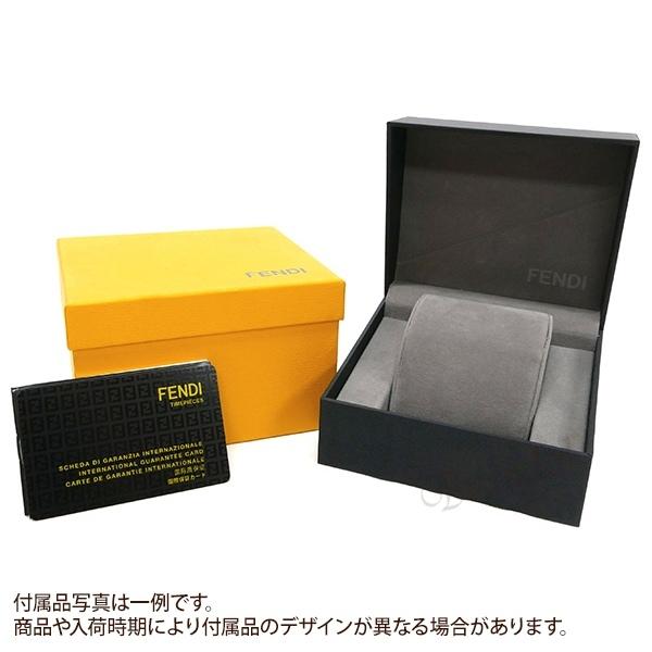 フェンディ レディース腕時計 クラシコ レクタングル ピンクパール×シルバー×ピンクゴールド F702270