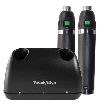 ウェルチアレンユニバーサル デスク チャージャー リチウムハンドル2本セット Welch Allyn