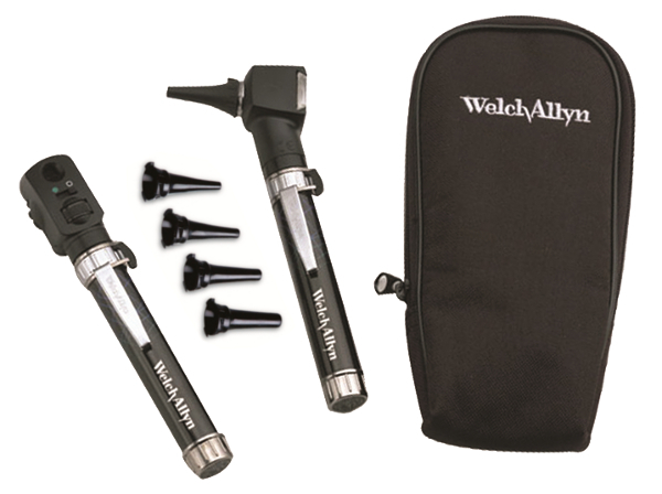 Welch Allyn [welcialen] 95001 Pocket junior ophthalmoscope, an Otoscope set