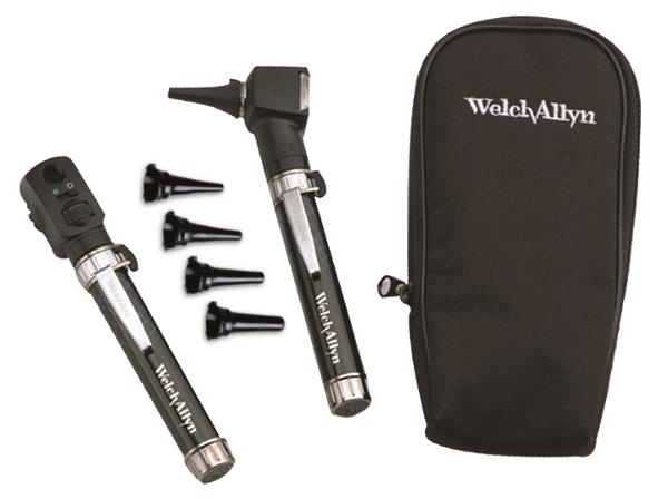 [ウェルチアレン] ポケットジュニア 検眼鏡・耳鏡セット 95001 Welch Allyn 医療用 眼底鏡 耳鏡