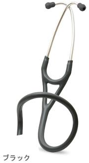 【キャッシュレス5%還元】リットマン 聴診器 交換部品 バイノーラル カーディオロジー用 ブラック ツーインワンチューブ