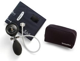 ウェルチアレン 血圧計 デュラショック DS55 ハンド型 ブラック 成人用(中)カフ、ソフトケースセット