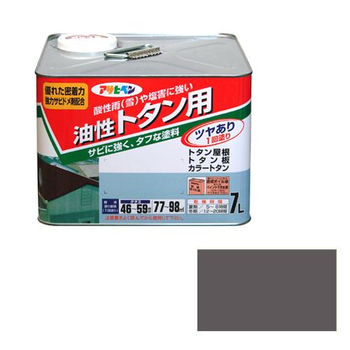 【あす楽対応・送料無料】アサヒペントタン用7Lねずみ色