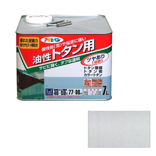 【あす楽対応・送料無料】アサヒペントタン用7L銀