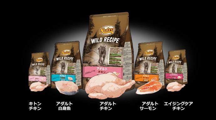 ニュートロ キャット ワイルド レシピ アダルト サーモン 成猫用 1kg【猫/餌/穀物フリー】