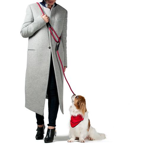両手が使えるショルダーリード 両手が使える HIGH5DOGS スーパーSALE セール期間限定 クリックショルダーリード 5mm 犬 お散歩 直営店 リード 全3色