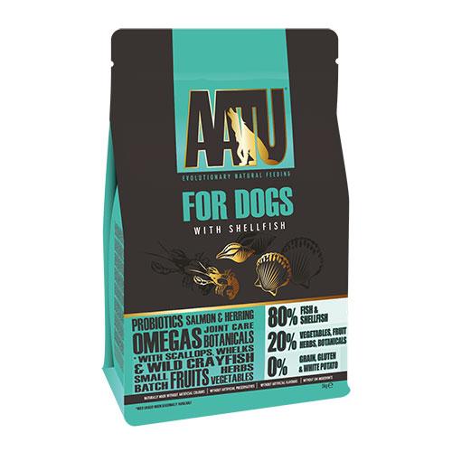 グレインフリーAATU アートゥー80/20 シェルフィッシュ(ドッグフード総合栄養食) 10kg  総合栄養食 【犬/ドッグード/穀物フリー】