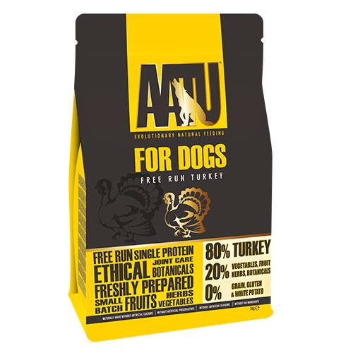 エントリーでポイントアップAATU アートゥー80/20 ターキー  1.5kg  総合栄養食 ドッグフード 【犬/ドッグード/穀物フリー】