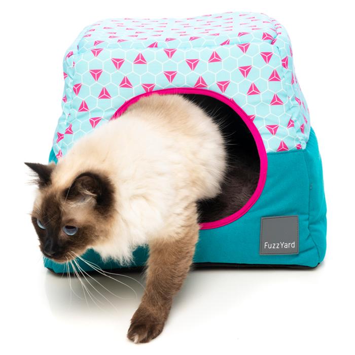オーストラリアfuzzyardのおしゃれなカドラーベッド 送料無料 小屋型ベッド FuzzYard カビー おしゃれ タヒチ 猫 ベッド 直輸入品激安 犬 タイムセール