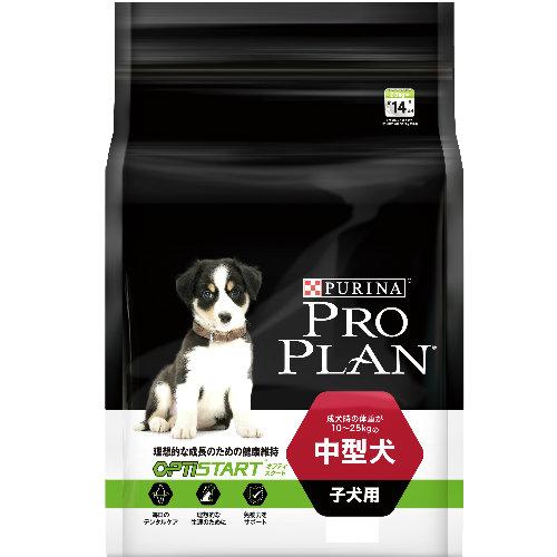 成長のための健康維持に プロプラン ドックフード  中型犬 子犬用 12kg チキン 【子犬/ドックフード/パピー】