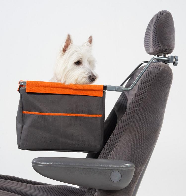 ペットとのドライブに K9 Lift ドライブボックス(ペット用ブースターシート) egr イージーアール 【犬/車】