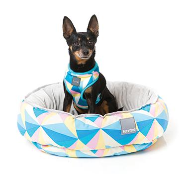 【送料無料】高級ベッド FuzzYard リバーシブルベッド サウスビーチ Mサイズ【犬/猫/おしゃれ/ベッド】