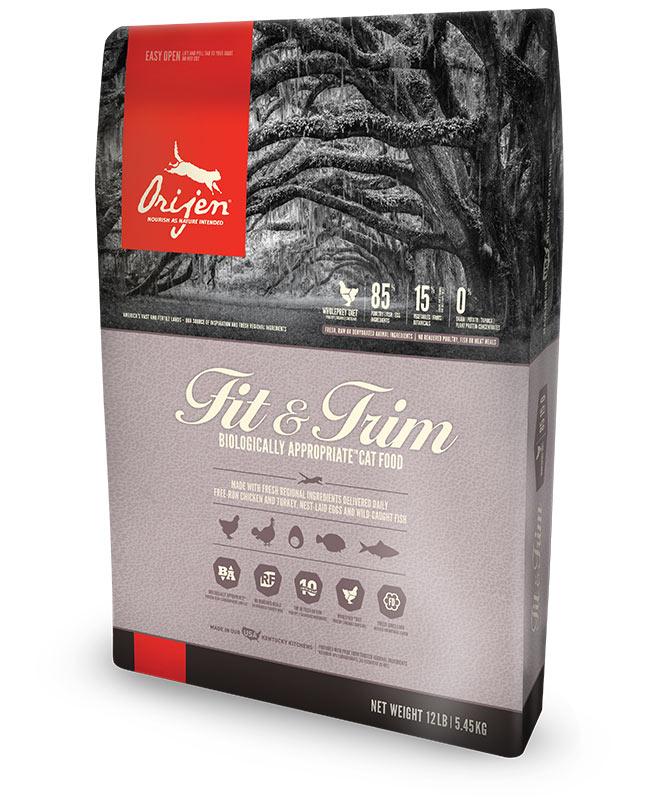 正規品 ORIJEN オリジン フィット&トリム キャットフード 体調管理用 1.8kg 【猫/キャットフード/ダイエット】