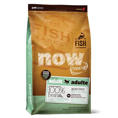新鮮な食材 ナウフレッシュ グレインフリー スモールブリード フィッシュアダルト 2.72kg ドッグフード NOW FRESH Grain Free【小型犬/ドッグフード/魚】