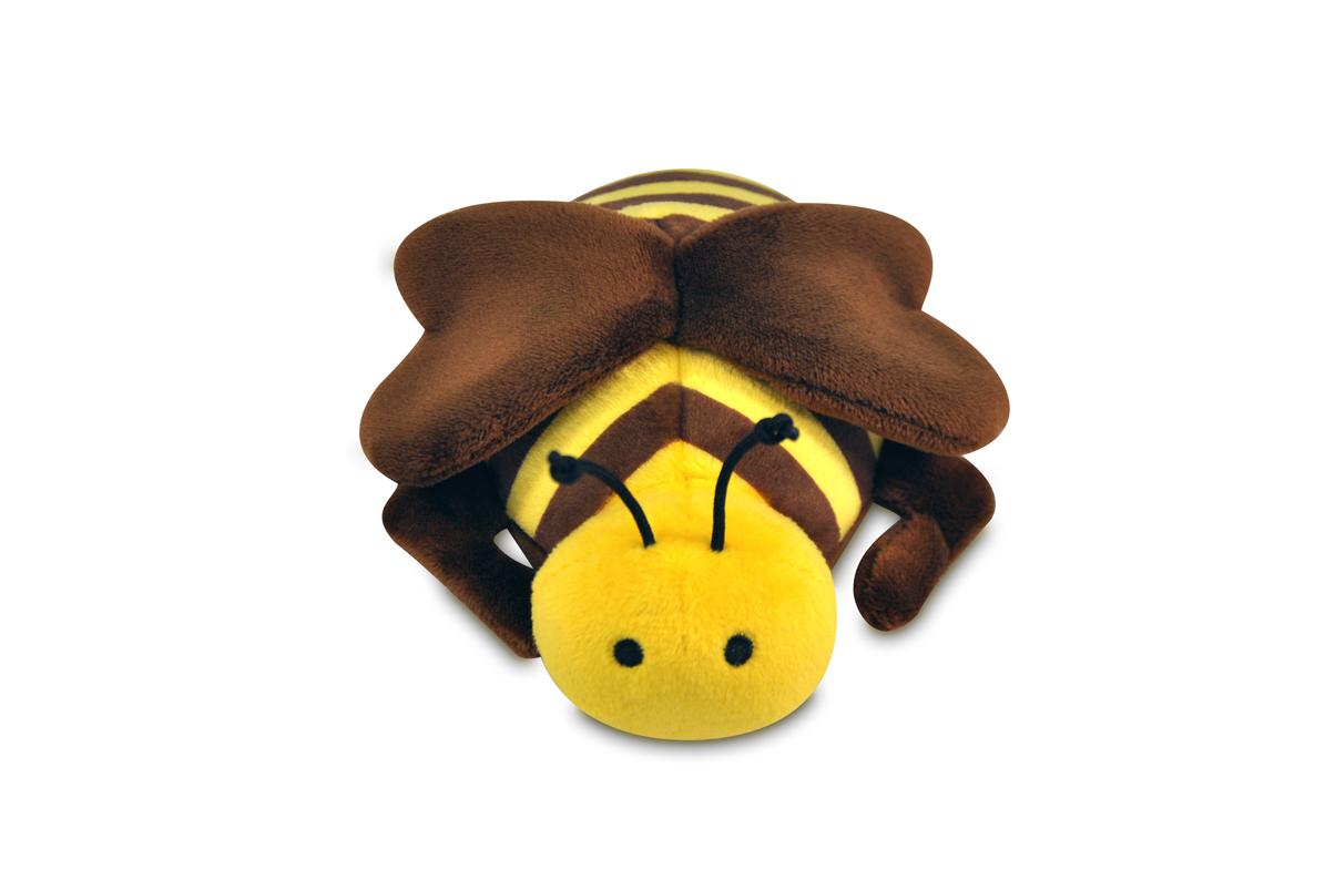 丁寧な縫製で触り心地も抜群 バギングアウト みつばち【ペット/おもちゃ/犬/ぬいぐるみ】