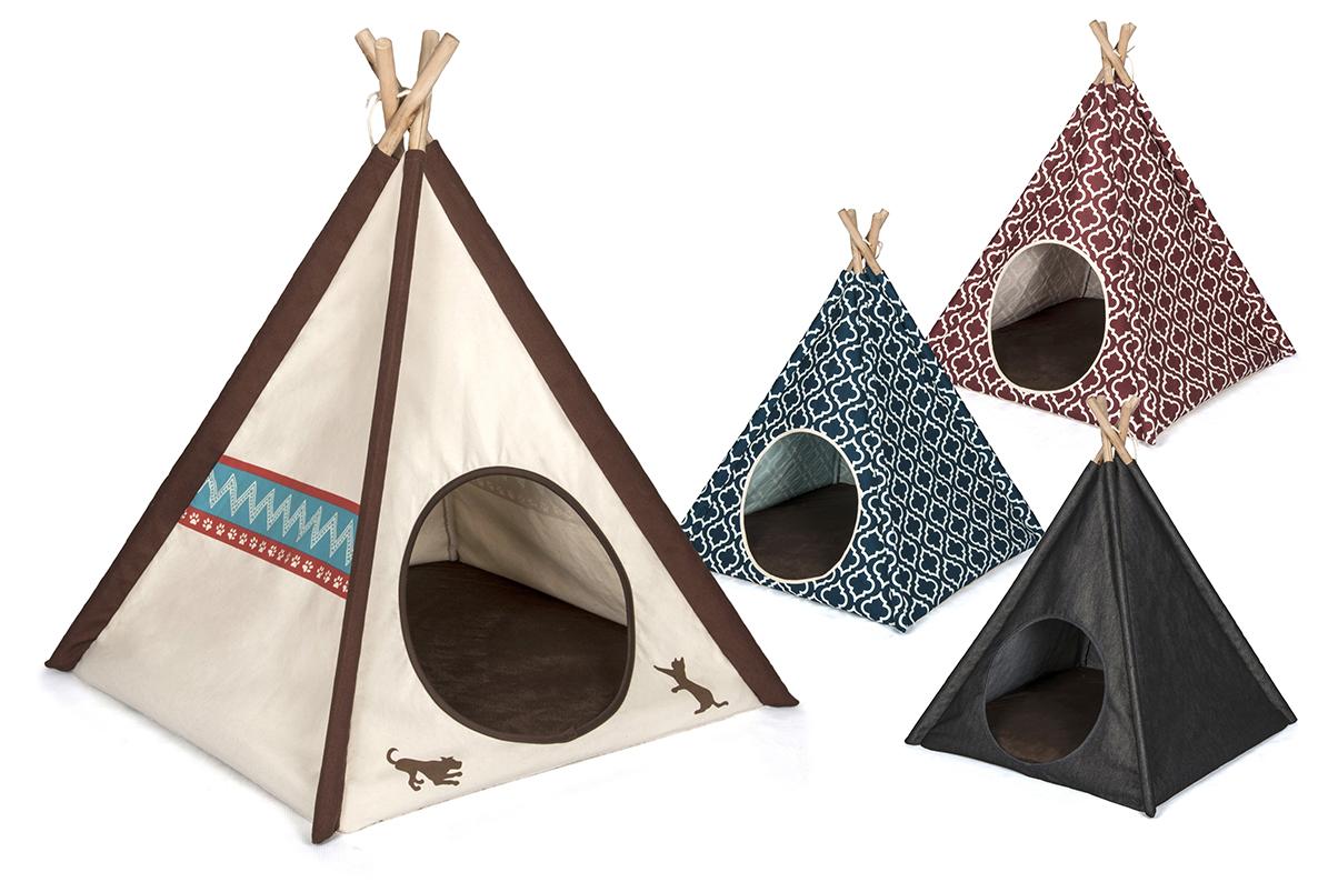 無料サンプルOK 高品質ペット用テント 買い取り ティピーテント 犬猫のリラックス空間 P.L.A.Y 全4種 犬 ベッド 猫 部屋