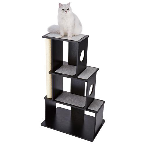 ご予約品 送料無料 キャットタワー アドメイト ヴィラフォート おしゃれ 新作通販 猫 タワー キャットシェルフ