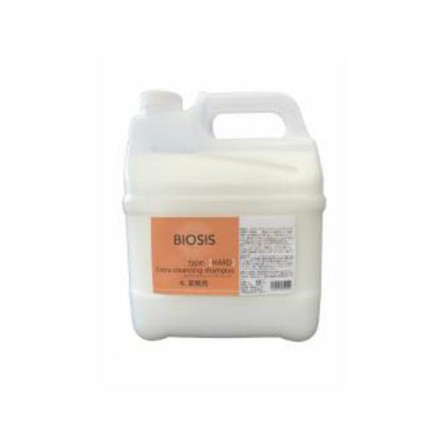刺激が少ないクレンジングオイル ビオシス エクストラクレンジングシャンプー 4L BIOSIS【犬/皮脂/クレンジング】
