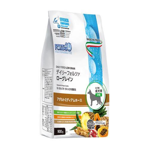 アレルギーケア FORZA10 フォルツァディエチ デイリーフォルツァ ミディアム ホース 中粒 20kg きローグレインドッグフード 【犬/穀物フリー/皮膚/アレルギー】