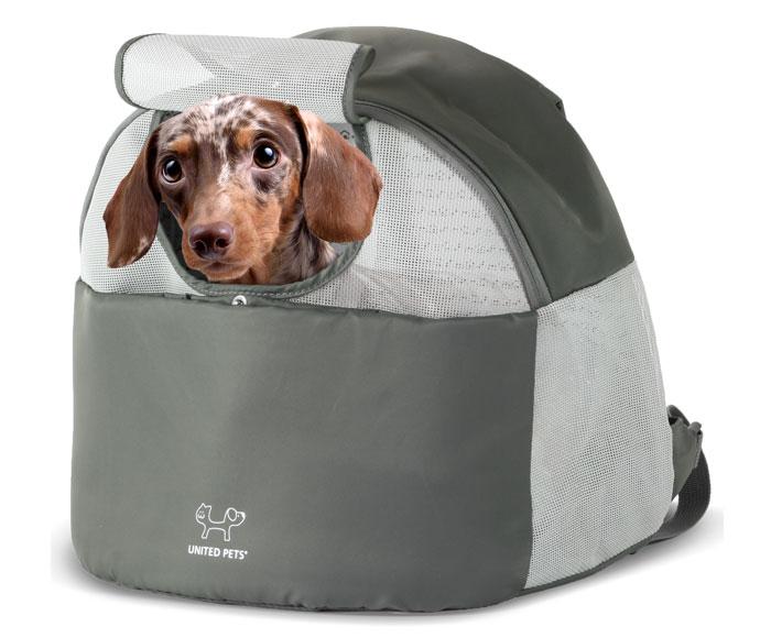 実用的なキャリーバッグ ユナイテッドペッツ リバースキャリー 全2色 UNITED PETS 【犬//キャリーバッグ】