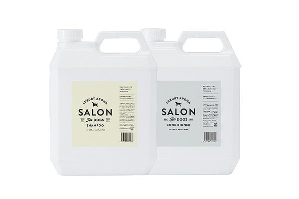 皮膚が弱い子でも、美しく サロンフォードッグス ミネラル Pro 業務用セット 3.8L SALON FOR DOGS シャンプー&コンディショナー 【犬/シャンプー/皮膚ケア】